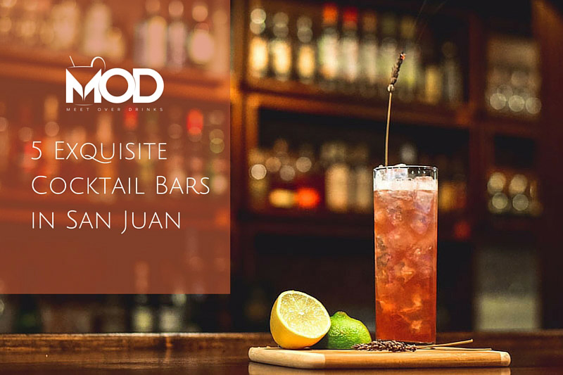 cocktail bars in san juan